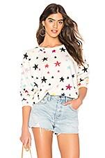 MONROW Oversized Raglan Sweatshirt in Natural