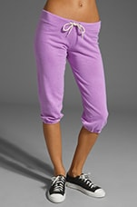 3/4 Vintage Sweats in Neon Violet