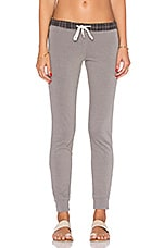 PANTALON SWEAT FRENCH PLAID