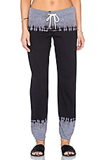 PANTALON SWEAT BLACK OUT TIE DYE VARSITY