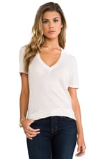 Tissue V-Neck en Bone