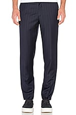 Peter Trouser in Navy Pinstripe