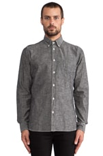 Vintage Chambray in Dark Grey