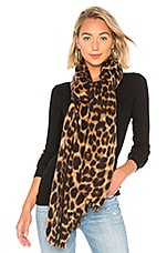 Hat Attack Leopard Scarf in Leopard