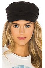 Hat Attack Hale Cap in Black