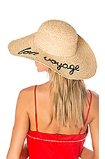 Hat Attack Bon Voyage Sunhat in Natural
