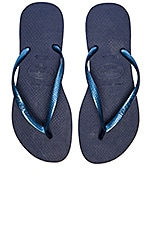 Slim Flip Flop en Navy Blue