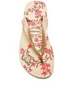Color Fashion Flip Flop in Sand Grey