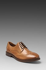 Haskin Lace Up Dress Shoe in Mustard
