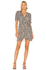 HEARTLOOM Cheri Dress in Leopard