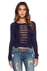 Chica Sweater in Indigo