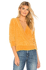 HEARTLOOM Chloe Sweater in Marigold