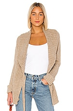 HEARTLOOM Candance Wrap Sweater in Oat