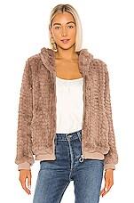 HEARTLOOM Peri Faux Fur Jacket in Fawn