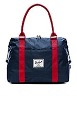 Strand Duffle in Navy/Red