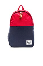 Jasper Backpack in Navy & Red