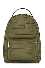 Herschel Supply Co. Nova Mid Volume Backpack in Dusty Olive