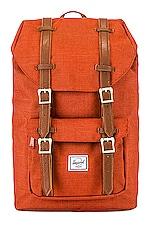 Herschel Supply Co. Little American Mid Volume Backpack in Picante Crosshatch