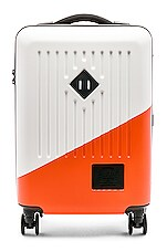 Herschel Supply Co. Trade Power Carry On in White & Vermillion Orange