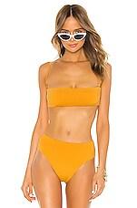 HAIGHT. Marcella Bikini Top in Amber