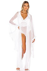HAH Yoko Kimono in Blanc