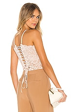 HAH Reversible Spinster Bodysuit in Nude Beach