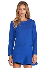 The Gala Pullover in Blue