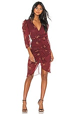 Hofmann Copenhagen Lea Dress in Mahogany Print