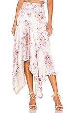 Hofmann Copenhagen Jolie Skirt in Creme Print