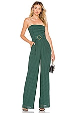 House of Harlow 1960 x REVOLVE Dominique Jumpsuit in Forest Green