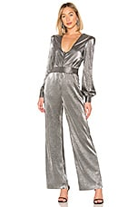 House of Harlow 1960 x REVOLVE Gladys Jumpsuit in Gunmetal