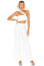 House of Harlow 1960 x REVOLVE Fabien Jumpsuit in Ivory
