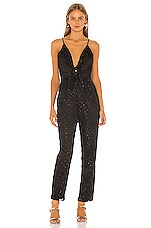 House of Harlow 1960 X REVOLVE Serafina Jumpsuit in Noir