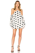 House of Harlow 1960 x REVOLVE Abella Dress in Dot Print