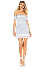 House of Harlow 1960 x REVOLVE Adeline Dress in Dusty Blue Stripe
