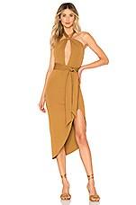 House of Harlow 1960 x REVOLVE Loretta Dress in Toffee