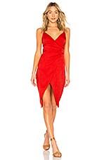 House of Harlow 1960 x REVOLVE Alvaro Dress in Crimson Red