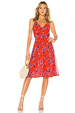 House of Harlow 1960 x REVOLVE Ines Dress in Crimson Floral