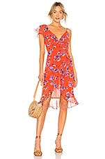 House of Harlow 1960 x REVOLVE Dara Dress in Crimson Floral