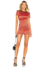 House of Harlow 1960 x REVOLVE Delphine Dress in Red Geo Tile