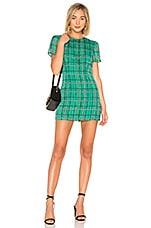 House of Harlow 1960 x REVOLVE Delphine Dress in Check Shadow Stripe
