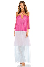 House of Harlow 1960 x REVOLVE Frida Tiered Maxi in Rainbow