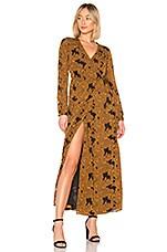 House of Harlow 1960 x REVOLVE Margareta Dress in Mustard