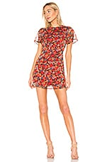 House of Harlow 1960 X REVOLVE Lotte Dress in Red Mixed Floral