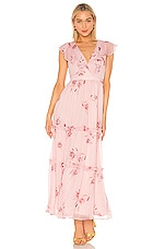 House of Harlow 1960 X REVOLVE Juniper Maxi in Pink Floral