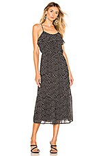 House of Harlow 1960 X REVOLVE Mariam Dress in Black & White Dot