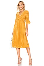 House of Harlow 1960 X REVOLVE Lex Dress in Golden Yellow