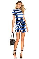 House of Harlow 1960 X REVOLVE Tyra Dress in Lapis Stripe