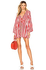 House of Harlow 1960 X REVOLVE Chandra Dress in Red & White Stripe