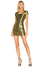 House of Harlow 1960 X REVOLVE Marilyn Dress in Chartreuse Yellow